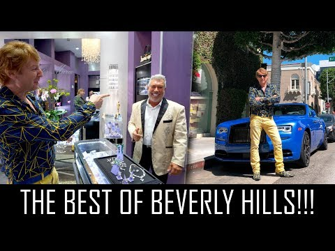 THE MOST EXCLUSIVE STORES IN BEVERLY HILLS!!