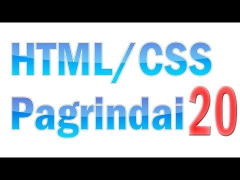 HTML/CSS Pagrindai #20 - CSS Elementų Plaukiojimas (float)