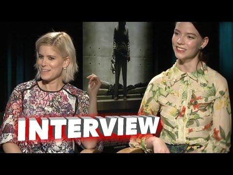 Morgan: Exclusive Interview with Kate Mara & Anya Taylor-Joy