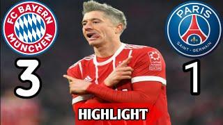 3-1 Highlight Bayern Munchen vs PSG (06-12-2017)