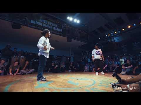 Free Spirit Festival 2017 MUSICOLOGY // St.Preux vs Neno // Funk -  1/4 Final