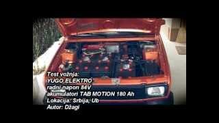 Test voznja 11.3.2013. god.