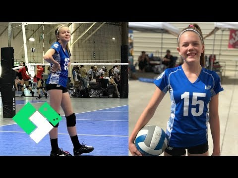 This Girl Loves Volleyball! | Clintus.tv