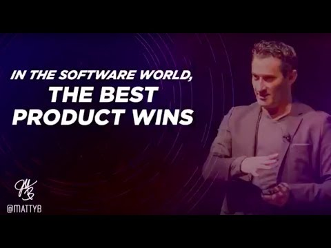 In the Software World, The Best Product Wins