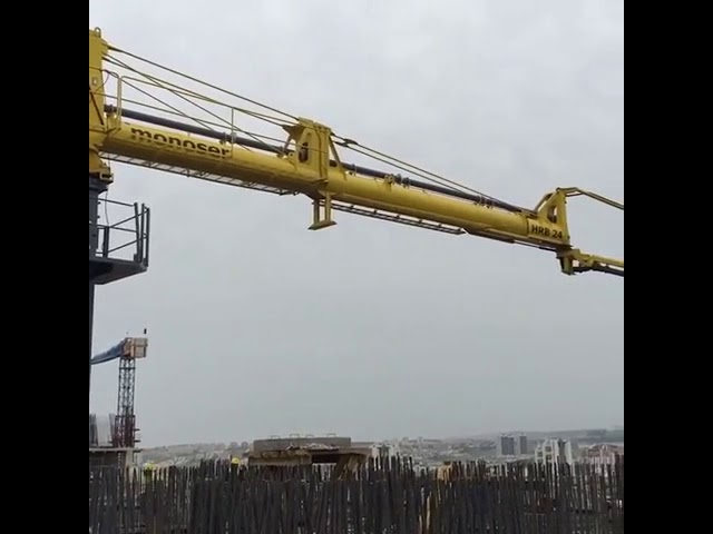 Horizantal Rotary Boom - monoser® Concrete Placing Systems