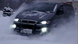 Интересные фургоны - Hyundai Starex ЗИМА (driving on snow)(, 2014-11-10T14:26:46.000Z)