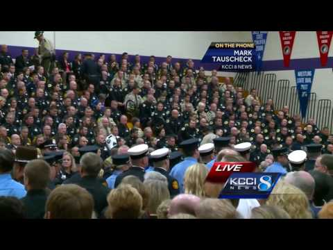 Full Coverage: Funeral of Officer Justin Martin