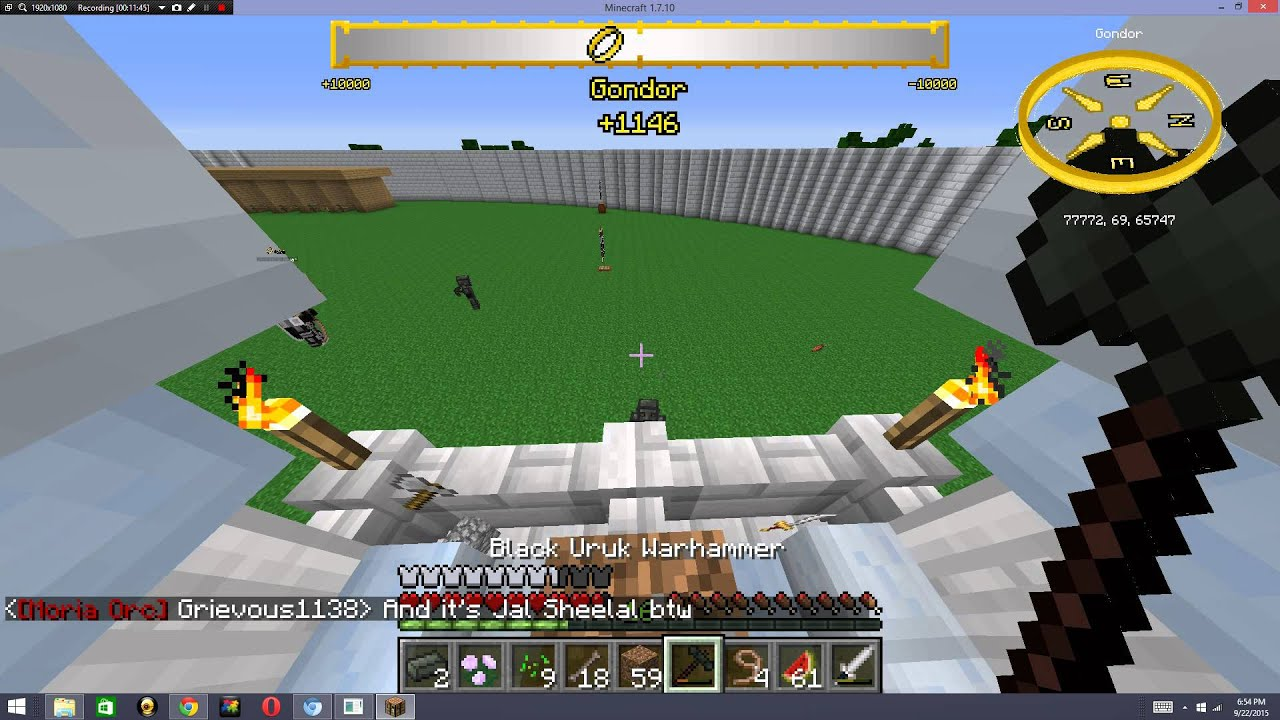 Minecraft Lord Of The Rings Server Ep
