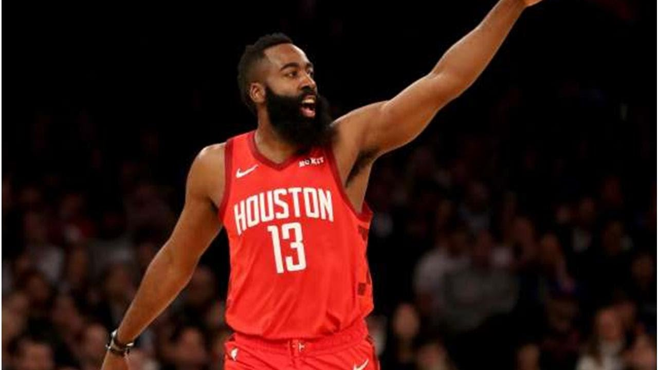607d2bc8f5a8 James Harden ties career-high with 61 points to lead Rockets past Spurs