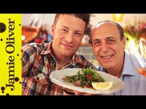 Jamie & Gennaro's Tuna Carpaccio