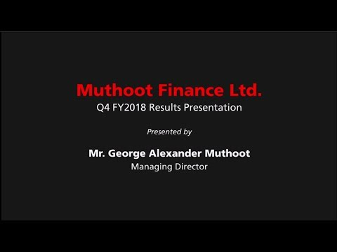 Muthoot Finance   Q4 FY-2018   Results