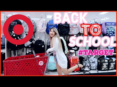 TARGET BACK TO SCHOOL SHOPPING 2019 | TARGET COLLEGE SUPPLIES HAUL!
