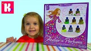 Делаем духи распаковка набора Мой детский набор для приготовления парфюма