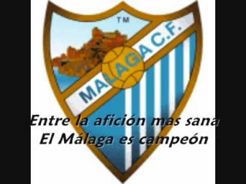 Himno del Málaga CF - Letra canción