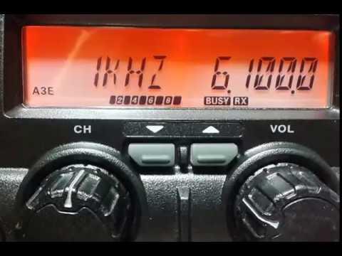 Radio China International 6100 kHz (Arabic)
