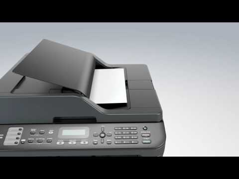Monochrome Laser All-in-One with Wireless Networking | Brother MFC-L2707DW