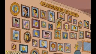 The Simpsons - The Death Of the Characters In The Simpson!