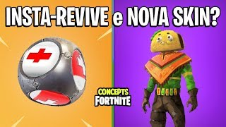 FORTNITE Concepts - ITEM QUE REVIVE e NOVA SKIN TACO?