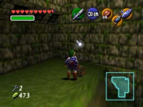 Zelda ocarina of time fire temple skulltulas prizes