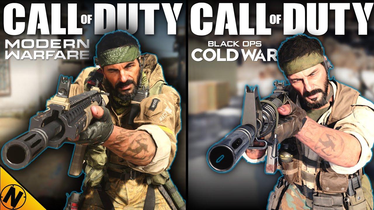 Call of Duty: Black Ops Cold War vs Modern Warfare | Direct Comparison
