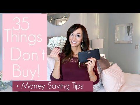 35 Things I No Longer Buy   Money Saving Tips Mp3