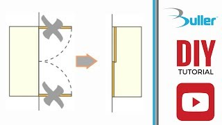 How to convert hinged wardrobe into sliding doors wardrobe with Placard sliding door track kit