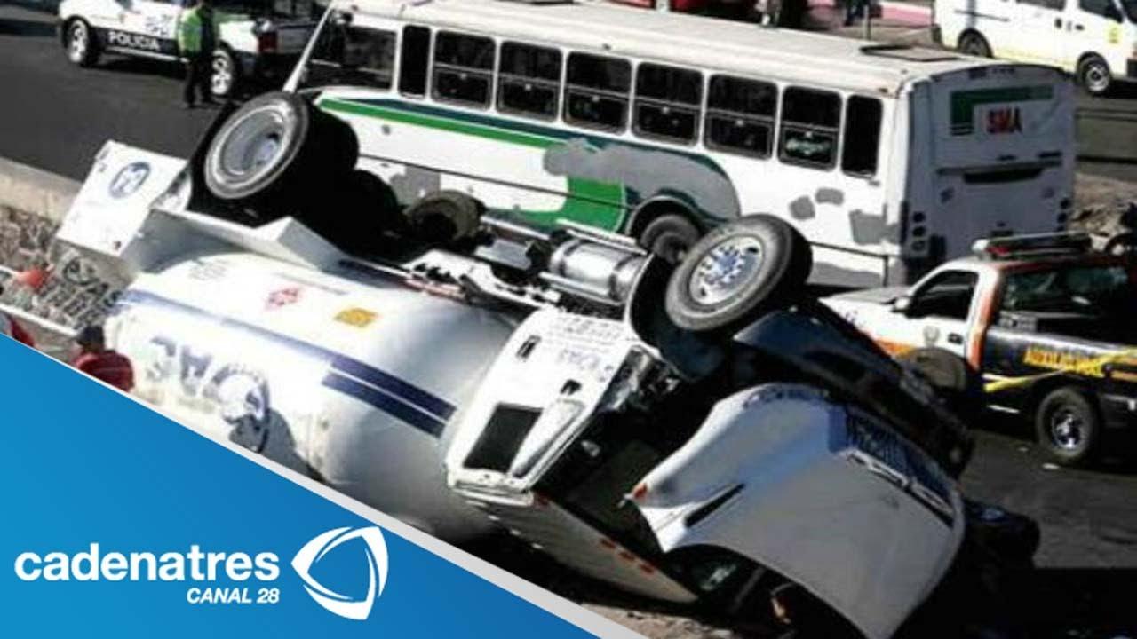 Impresionante accidente en carretera MxicoPuebla
