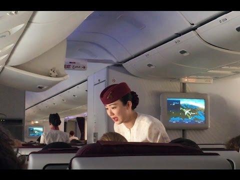 *NEW* Qatar Airways B777 Flight Review (HD)