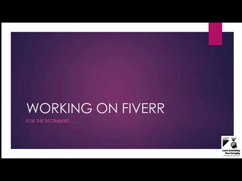 How to Work on Fiverr || A Complete Guide to Beginners