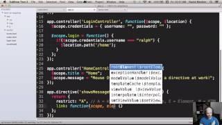 Introduction to Angular JS