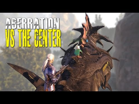ABERRATION VS THE CENTER - Official 6 man Small Tribe Servers - Ark: Survival Evolved - Ep.12