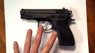 CZ 75 Compact, all steel overview