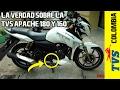 La verdad sobre la TVS Apache RTR 180 y 160 en Colombia ¿Es una moto mala? //MOTOVLOG