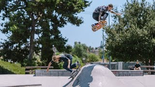 A Day in Oceanside, CA, with Axel Cruysberghs + Collin Provost   Volcom Skate