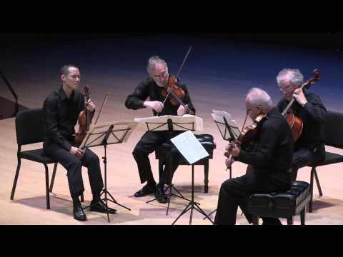 Juilliard String Quartet performs Bach Art of Fugue, Contrapuncti 1 - 4