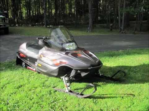 2002 Arctic Cat Z370 For Sale Youtube