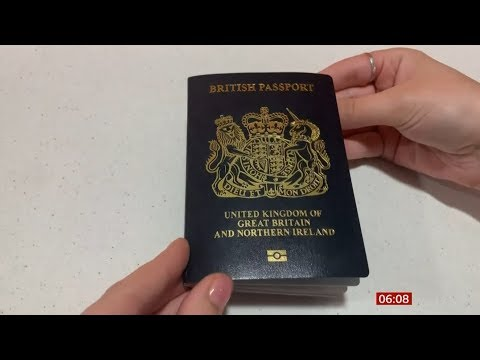 Blue Passports Coming Back (post Brexit) (UK) - BBC News - 22nd February 2020