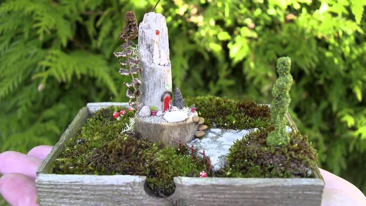 Gardening In Miniature Youtube