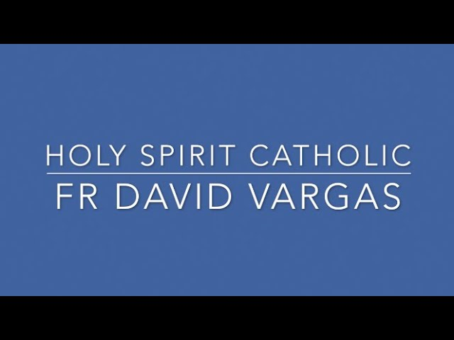 Tuesday 5th Week of Lent English (From Heart to Heart) Fr David Vargas