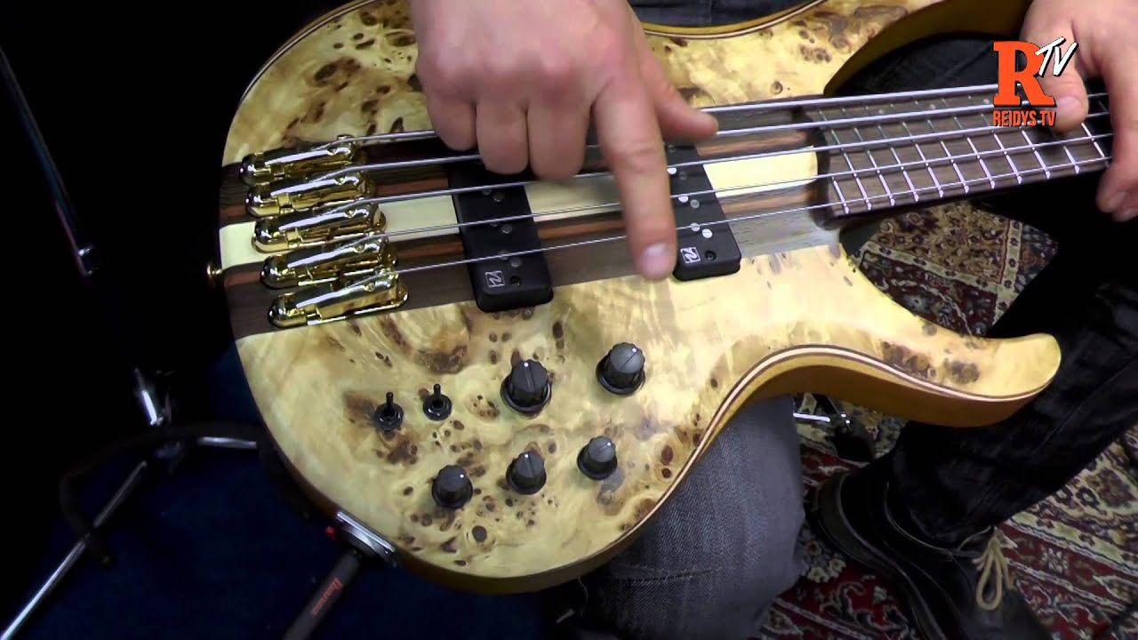 ibanez btb1605 bass demo headstock expo 2015 youtube