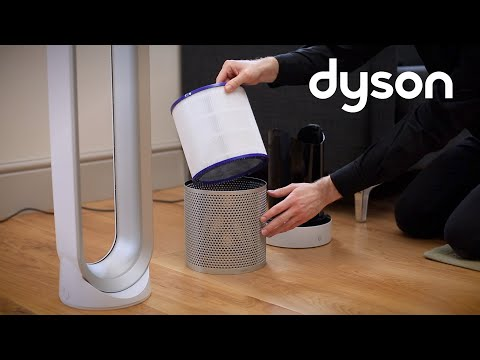Dyson Pure Cool Link tower purifier fan - Replacing the filter (IN)