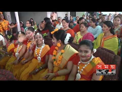 সিলেটে হয়ে গেলো দিনব্যাপী আন্তর্জাতিক হোলি উৎসব।   Sylhet News   Somoy TV