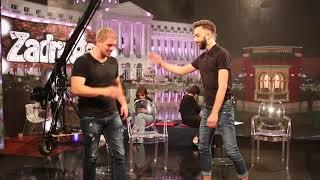 BORBA TITANA: Darko Tanasijević i Petrući odmerili snage u sklekovima