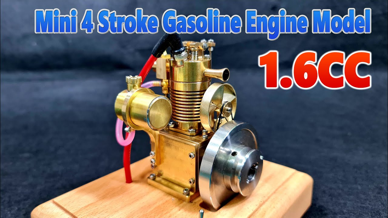 1.6cc Super Mini 4-Stroke Gasoline Engine Model - Air-cooled