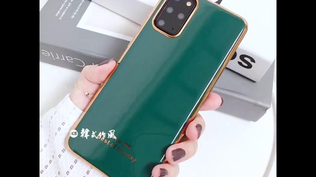 SAMSUNG S20/A71/A51/NOTE10/S10/NOTE9/NOTE8/S9/A70/A50/A20系列 時尚奶奶灰輕奢純色電鍍邊框手機殼(三色)【RCSAM157】