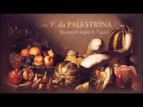 G. P. da Palestrina - 8 Ricercari sopra li tuoni (for 4 instruments)