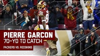 Kirk Cousins Hits Pierre Garcon Deep for a 70-Yard TD! | Packers vs. Redskins | NFL
