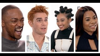 THE HATE U GIVE Cast Interviews: Amandla Stenberg, K.J. Apa, Algee Smith, Sabrina Carpenter