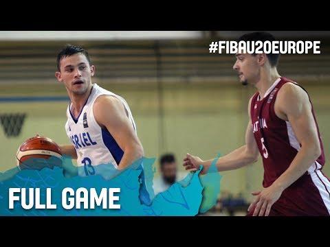 Israel v Latvia - Full Game - FIBA U20 European Championship 2017