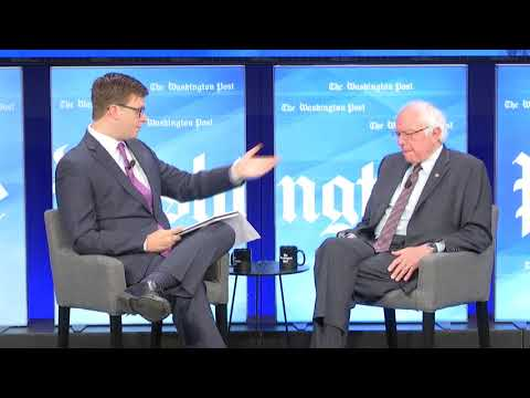 The Daily 202 Live with Sen. Bernie Sanders
